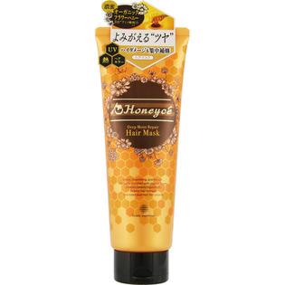 Honeyce 无硅玫瑰蜂蜜保湿修护发膜