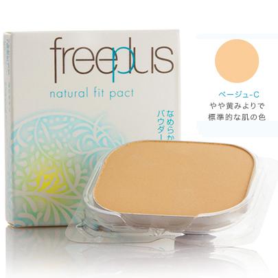 freeplus芙丽芳丝自然柔适粉饼米色-C