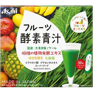 朝日 水果酵素青汁30袋入
