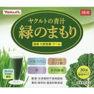 养乐多健康食品 青汁 绿色保护30袋