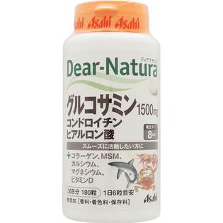 朝日 Dear - Naturn氨基葡萄糖 软骨素 透明质酸180粒