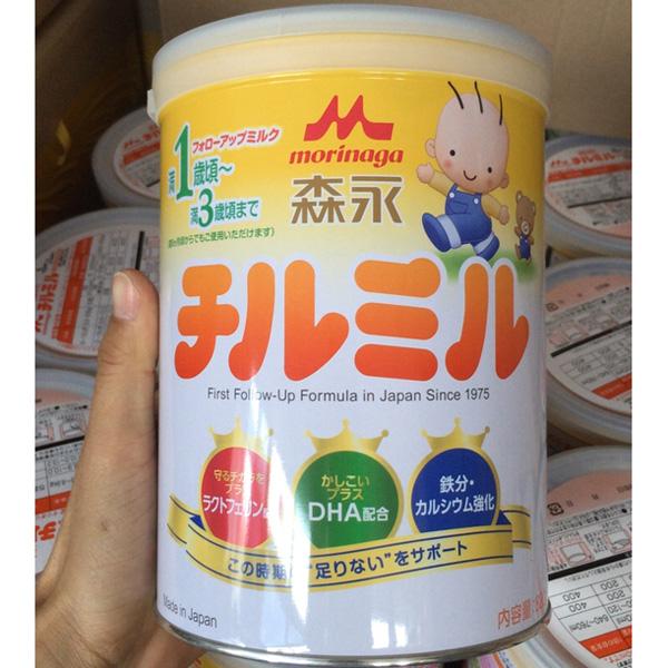 森永婴儿奶粉二段820克1-3岁奶粉