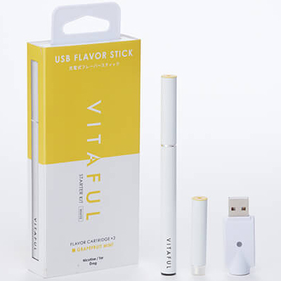 vitaful 充电型美容电子烟 西柚薄荷