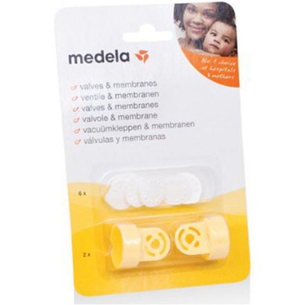 Medela美德乐防溢出阀和膜套装吸奶器配件