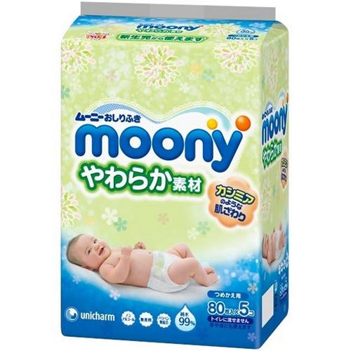 尤妮佳婴儿湿巾替换装