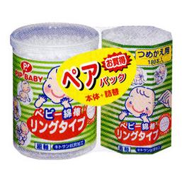 PIP BABY抗菌型婴儿棉棒棉签套装