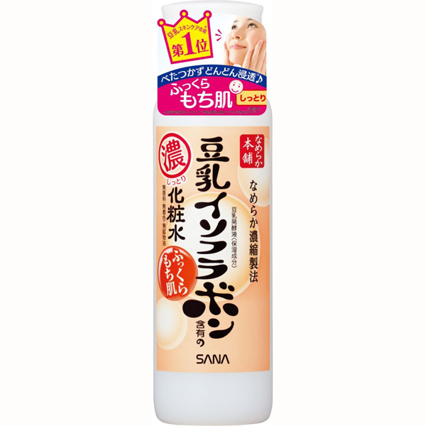 SANA豆乳化妆水200ML滋润型