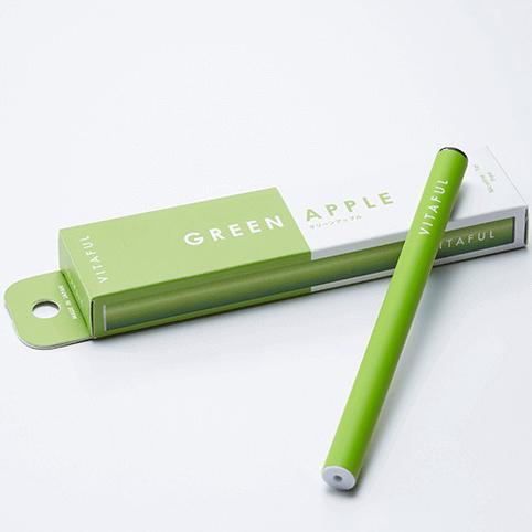 vitaful 一次性电子烟 绿色苹果味
