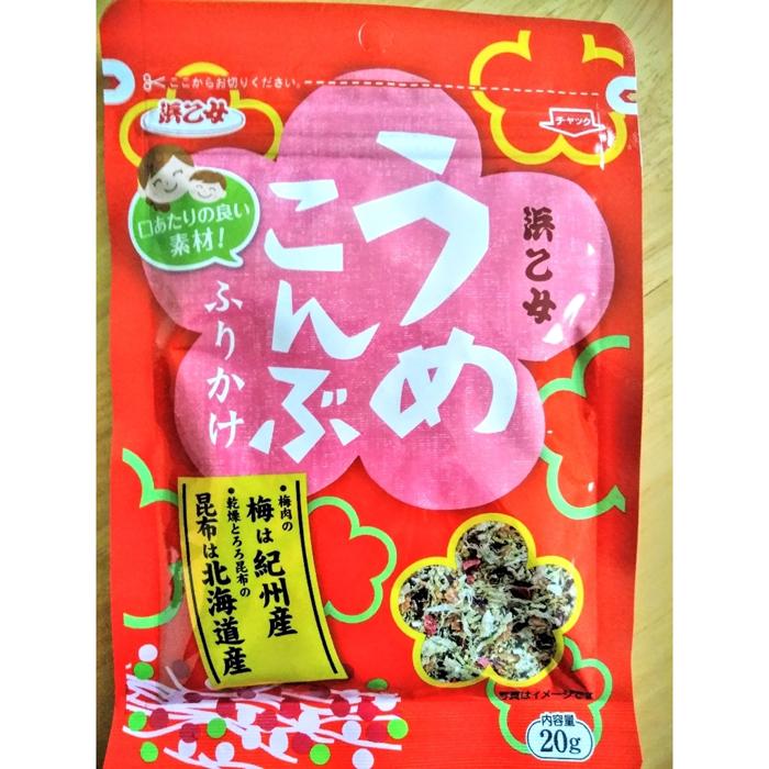 浜乙女 鲣鱼海带拌饭料20g