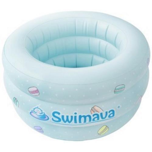 swimava宝宝充气浴盆 绿色