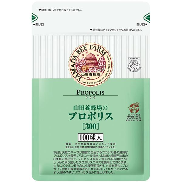 山田养蜂场 高含量天然蜂胶软胶囊 替换装