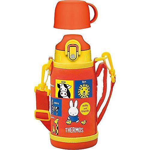 膳魔师 儿童保温杯 双盖两用迪士尼FHO600WFB-R