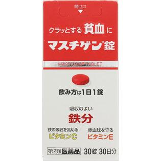 日本臓气制药贫血用药成人用30粒