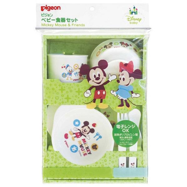 贝亲 迪士尼婴儿餐具套装
