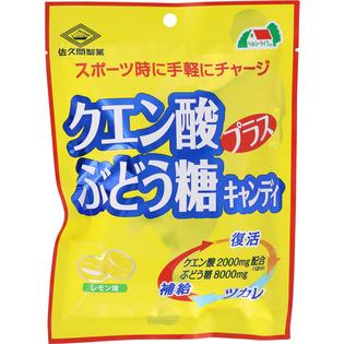 佐久间制果 柠檬酸+葡萄糖