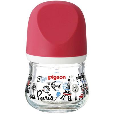 贝亲 新生婴儿母乳实感玻璃奶瓶80ml 巴黎 预定