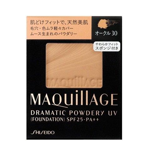 资生堂 Maquillage心机美人无瑕定妆粉饼芯 OC30