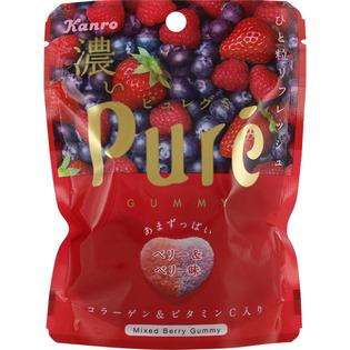 KANRO甘乐Pure 草莓蓝莓软糖