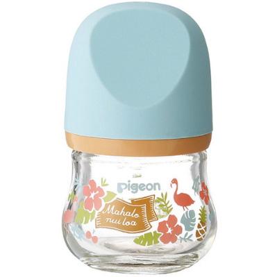 贝亲 新生婴儿母乳实感玻璃奶瓶80ml 夏威夷 预定