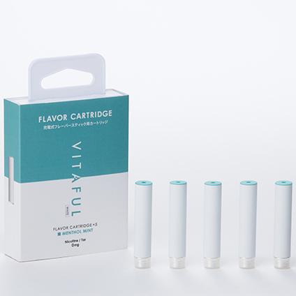 vitaful 充电型美容电子烟 替换头纯味薄荷
