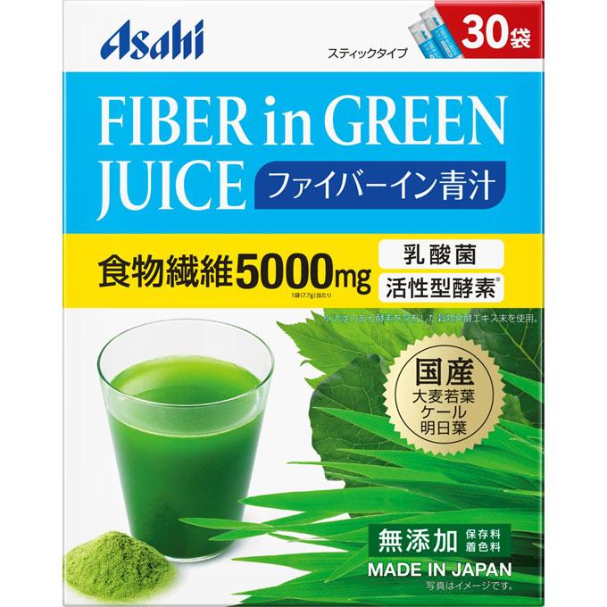 朝日 食物纤维青汁30袋入