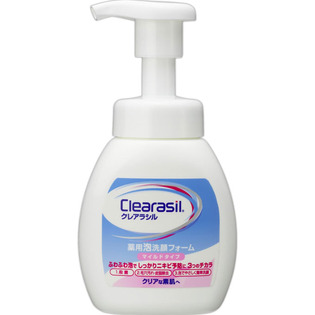 Clearasil药用泡沫洁面摩丝