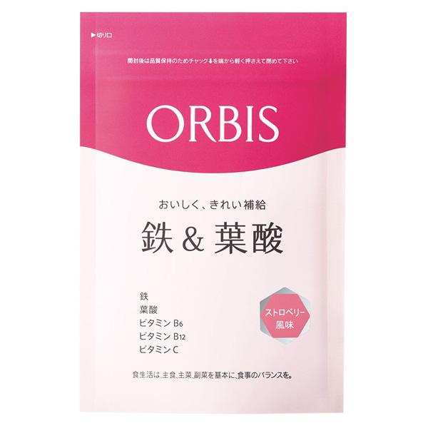 ORBIS奥蜜思 铁叶酸咀嚼片