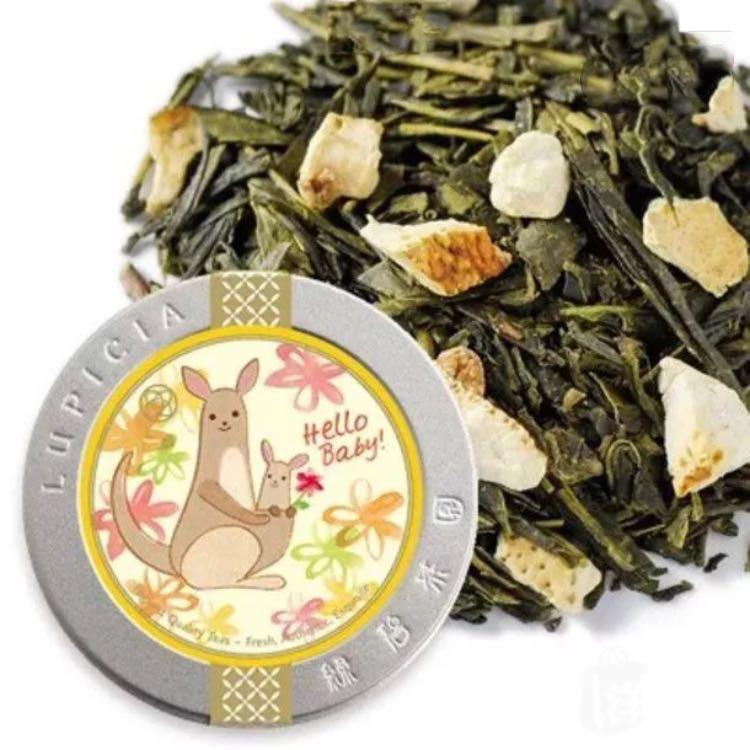 LUPICIA葡萄柚绿茶罐装