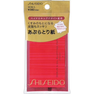 资生堂 暗沉皮脂用 清爽型吸油纸