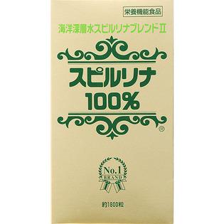 日本 海洋深层水混合螺旋藻100% 1800粒