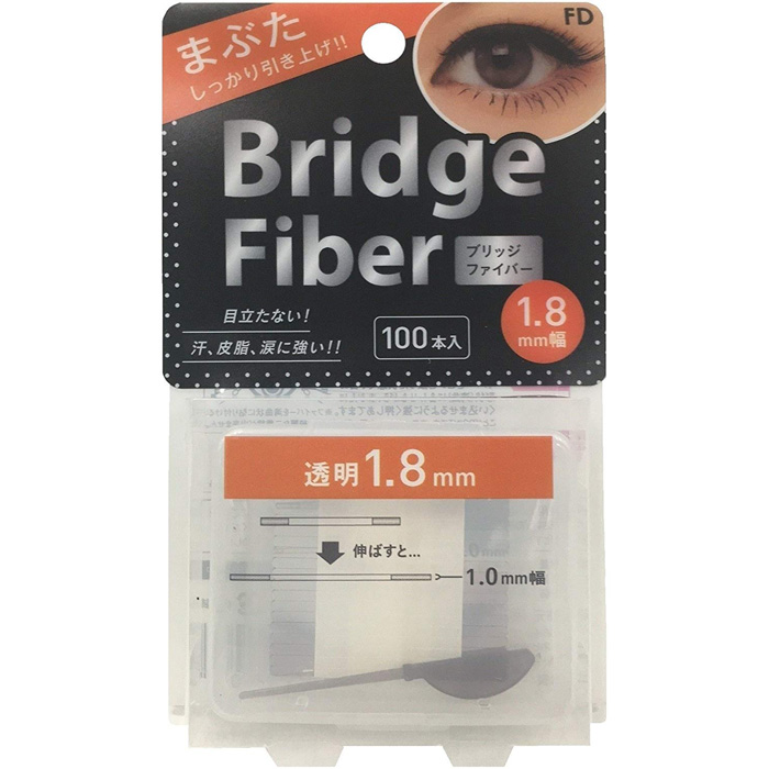 FD 双眼皮贴纤维条透明1.8mm