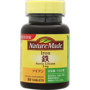 大塚NATURE MADE营养铁元素贫血男女用80粒
