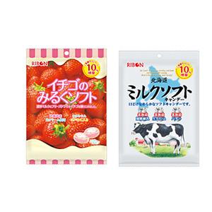 Ribon 牛奶/草莓糖