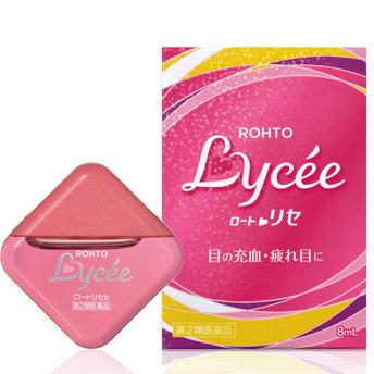 乐敦Lycee 小红花眼药水