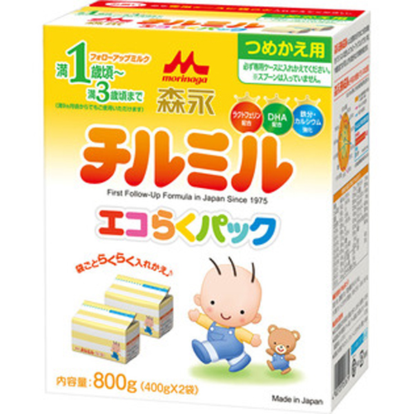 森永 2段奶粉盒装800g