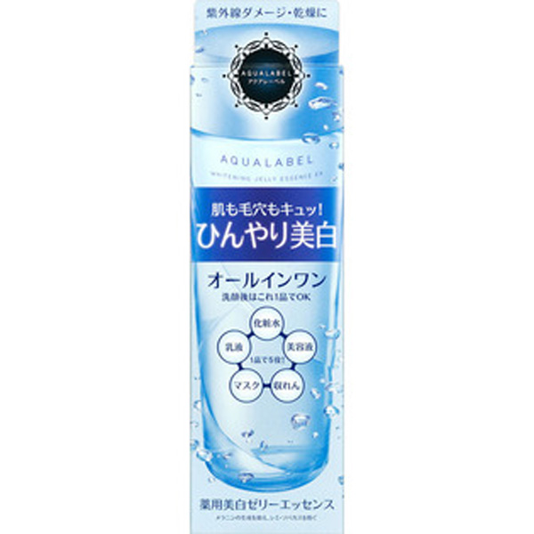 资生堂AQUALABEL水之印4效合1净白保湿化妆水美容液