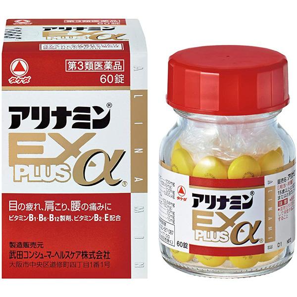 武田CH 维生素EX加α60片