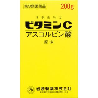 岩城制药 维生素C 200g