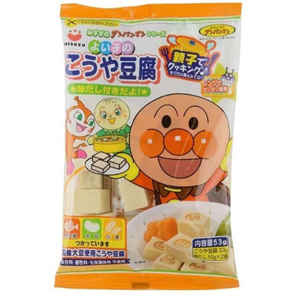 misuzu面包超人高野豆腐