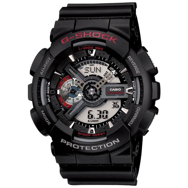 卡西欧GA-110-1AJF男士手表