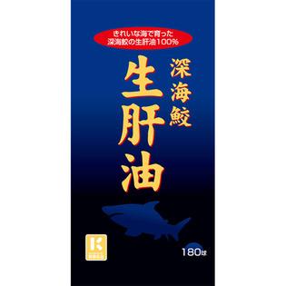 Miyama 汉方制药 深海鲨鱼生肝油180胶囊