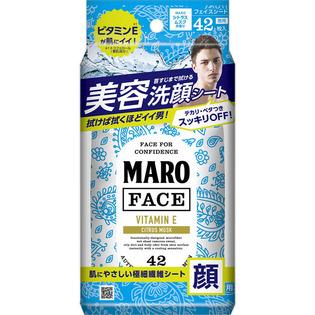 MARO 男士清洁保湿维生素E美容湿巾