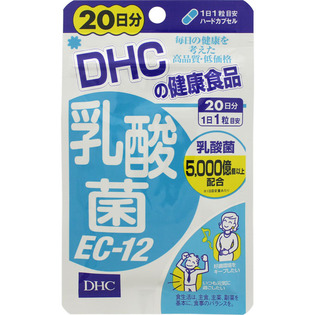 DHC 乳酸菌EC-12 20日分