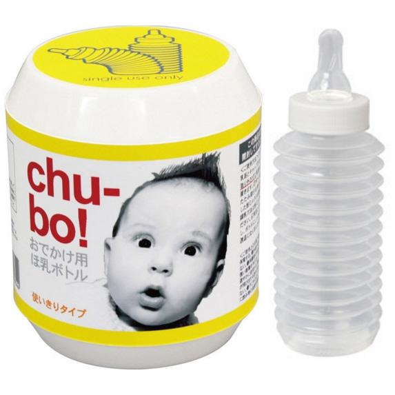Chu-bo 宝宝压缩奶瓶1个装