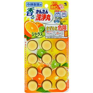 小林制药除臭清洁洗净丸橙色柑橘味