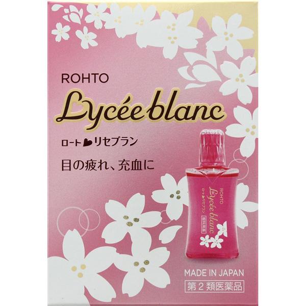 乐敦Lycee blanc樱花眼药水12ml
