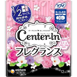 尤妮佳 CENTER-IN便携芳香型卫生巾