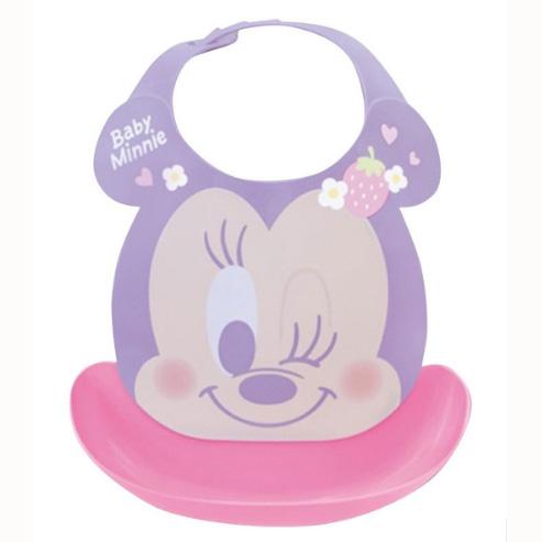 Disney幼儿防水围兜米妮图案