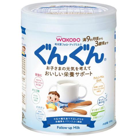 和光堂二段奶粉小罐