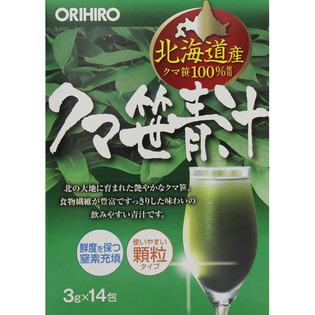 Orihiro 熊竹叶青汁3g×14包